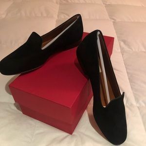 Valentino NIB suede smoking slipper